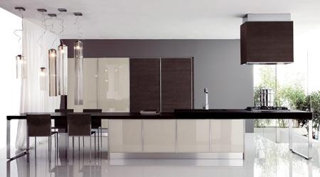Cucina moderna modello haiti di copat spa - Febal cucine spa ...