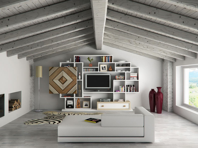 Cool ristrutturare mansarda idee wp33 pineglen - Idee casa arredo ...